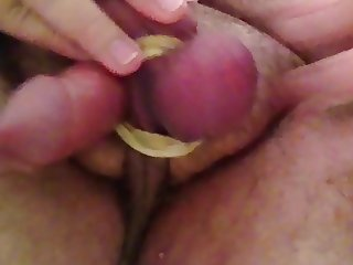 Balls Torture and Huge cum