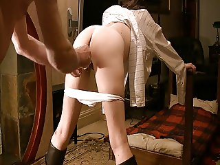 punished for wetting her knickers
