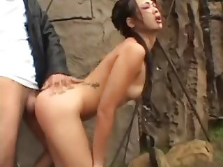 Nyomi Zen - Fuck a geisha in the ass!