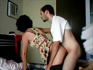 Milf fucked by younger on hidden cam