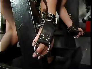 Slave takes the pain