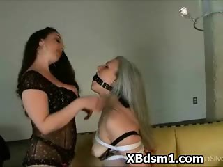 Hilarious Chick Bondage Fetish Porn