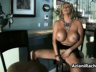 Busty blonde babe goes crazy part4