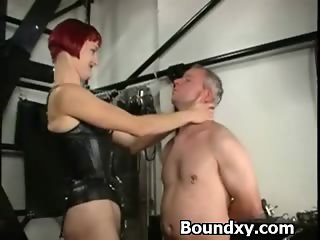Humiliation Domination For Slut In PVC Fetish