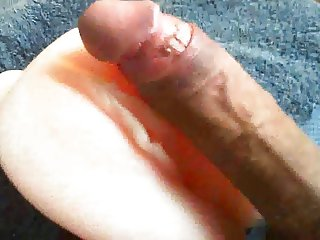playing with my pussy toy - slow penetration