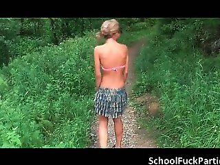 Hot sexy nasty blonde teen slut part2