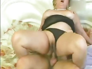 Mature slut & whore furiously sucking dick & fucking!