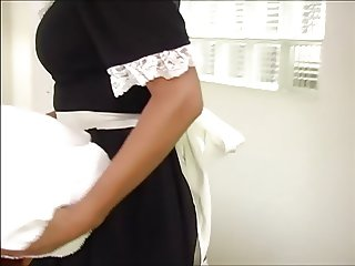 French Maid Fucked in Hotel Room