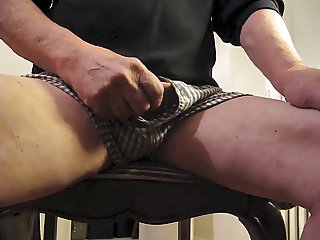 Wanking and watching porn
