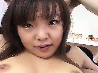 Fingers and toys deep in her asian bum