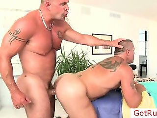 Two mature hunks fucking part2