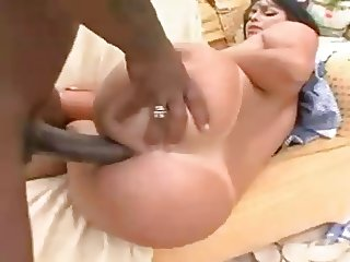 Brazilian Maid Takes it Up the Ass part 1