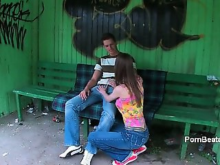 Hot teen babe goes crazy jerking part1