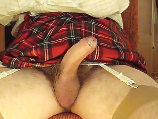 Crossdresser going soft to hard 4 Part 2
