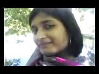Bangladeshi Girl Showing On Friend's Request On Park