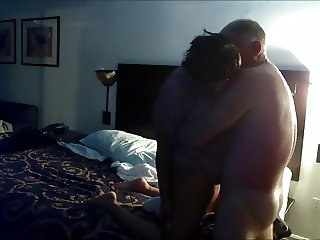 Interracial Fun in Motel Hot Affair with Two Married Adults!