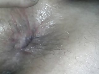 BBW Wifes asshole up close