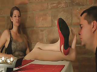 Cute girl in pantyhose smell worship 3
