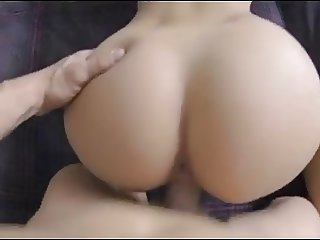 POV Amateur-ish Bonk on Bed for Facial