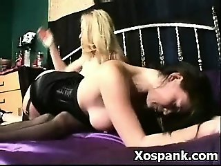 Seducive Spanking Girl Fetish Fucking