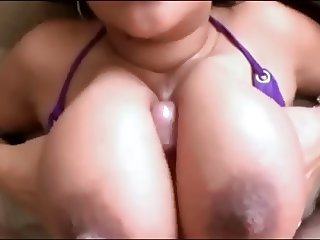 Big Boobs in Bikini - Titjob Specialist! DH