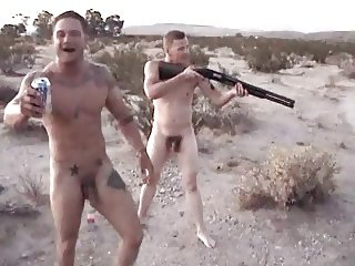Naked men with guns nude opinion