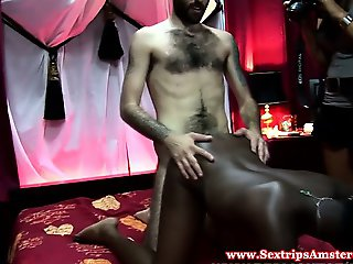 Real black hooker getting oralsex