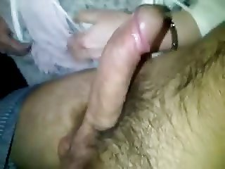 Mature wife sucking young dick