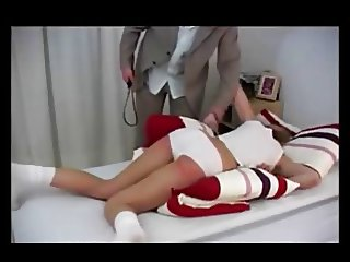 Daughter spanked with belt by your daddy.