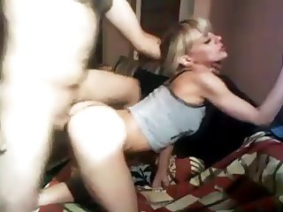 Doggy style Fuck Ends With Cum In Mouth