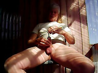Mr Masturbate sounds his penis with big steel rod