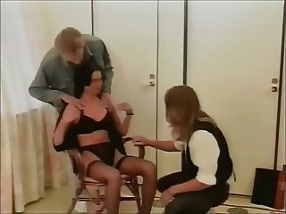swedish classic three-some shorthaired lady