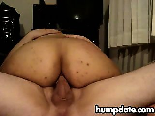 Latin wife with big ass gets anal
