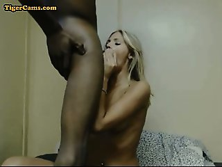 White Girl Fucked With Big Black Cock