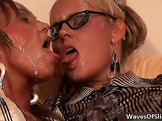 Horny group of sex gets horny sucking part5