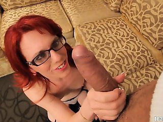 The sexy Wendy Summers loves a huge cock in her ass! Thats