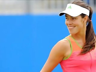 Ana Ivanovic is hot! Sexy On-Court Impressions Part 5 of 6
