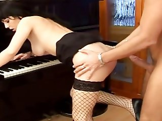 Porn and piano.