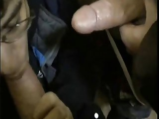 (Gay)-Her First Cocksucking Threesome