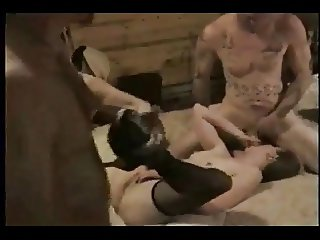 Amateur - Homemade Pigtail Cutie MMF Threesome