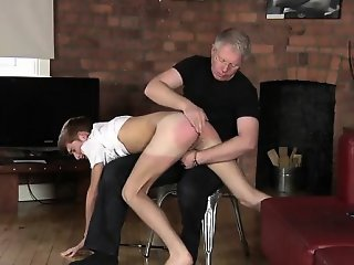 Twink sex Spanking The Schoolboy Jacob Daniels