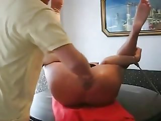 Mature slave extreme fisting and squirt