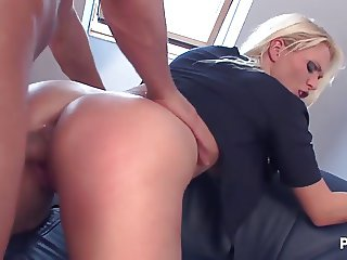 Police woman needs a dick
