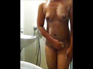 Miss M shower 1
