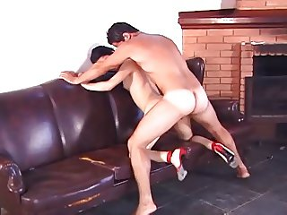 Young Shemale Fucking and Cumming