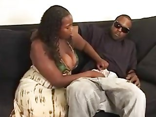 Black woman with big titties