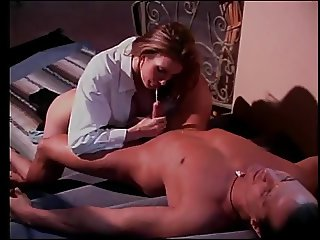 Lovely brunette milf with perfect tits gets her cunt filled with big dick