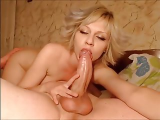 Pretty cam couple does everything, even anal with big cock