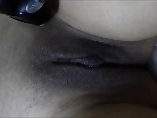 Shaving the pussy of my sexy asian girlfriend