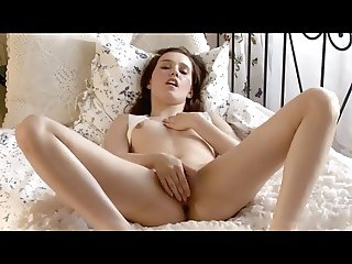 Petite Angel face Teenager masturbating